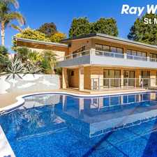 Rental info for RESORT STYLE LIVING in the Cherrybrook area