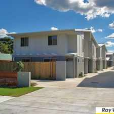 Rental info for 3 Bedroom Townhouse with Air Conditioning!!! in the Brisbane area