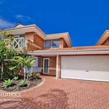 Rental info for ***HOME OPEN SATURDAY 16TH SATURDAY SEPTEMBER 11.00AM TO 11.20AM*** Beautiful spacious home