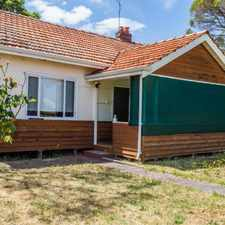 Rental info for Quaint Cottage in the Perth area