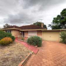 Rental info for CONVENIENTLY LOCATED HOME