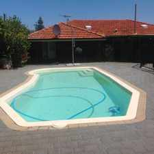 Rental info for Below Ground Pool