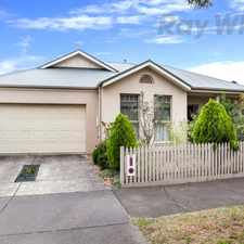 Rental info for Top Notch Townhouse in the Ballarat area