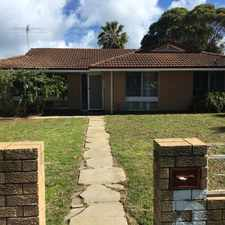 Rental info for LARGE BLOCK WITH BIG SHED- GREAT FOR THE FAMILY PET - LAWNMOWING INCLUDED