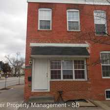 Rental info for 165 N. Streeper St in the Patterson Park area