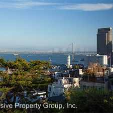 Rental info for 310A Filbert Steps in the Telegraph Hill area