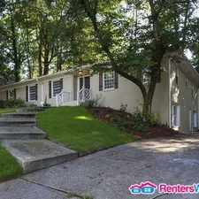 Rental info for 1585 Peachtree Battle Ave NW in the Paces area