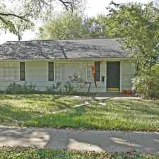 Rental info for 4506 Caswell in the Austin area