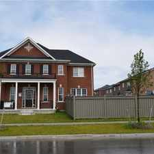 Rental info for 147 Thomas Phillips Drive in the Newmarket area