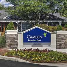 Rental info for Camden Reunion Park