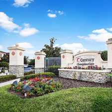 Rental info for Century Champions Gate