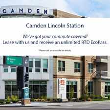 Rental info for Camden Lincoln Station