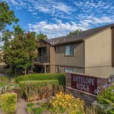 Rental info for Antelope Ridge Apartments in the 95843 area