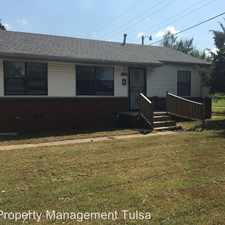 Rental info for 4711 North Garrison AVe in the Tulsa area