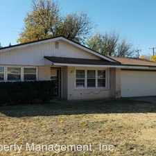 Rental info for 4905 10th St. in the Lubbock area