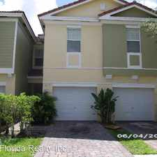 Rental info for 817 Pipers Cay Drive