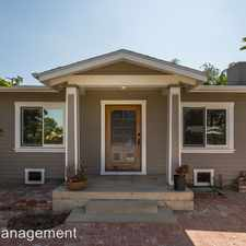 Rental info for 5050 La Roda Ave - Front House in the Eagle Rock area
