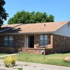 Rental info for 7302 Avenue X in the Lubbock area
