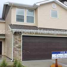 Rental info for Beautiful Townhome located in Staley area in the Meadowbrook Heights area