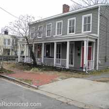 Rental info for 413 N. 22nd Street in the Church Hill area