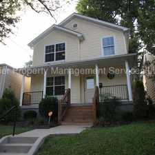 Rental info for Beautiful Germantown Home! in the Schnitzelburg area