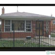 Rental info for *** BEAUTIFUL 4 BEDROOM HOUSE - READY NOW FOR RENT ON WEST 109TH PLACE *** in the Morgan Park area