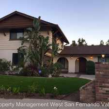 Rental info for 24230 Welby Way, in the West Hills area