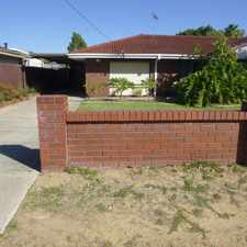 Rental info for LOVELY HOUSE READY FOR YOU in the Perth area