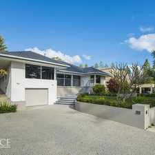 Rental info for OPEN TO VIEW SAT 16 SEP 11.20 AM in the Perth area