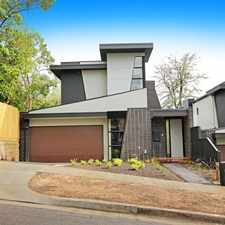 Rental info for SPECTACULAR LIVING in the Melbourne area