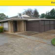Rental info for Wonderfull Delight 2 Bedrooms 1 Bathroom in the Gawler area
