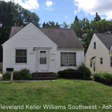 Rental info for 19520 Maple Heights Blvd in the Maple Heights area