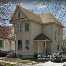 Rental info for 241 McKay in the University area