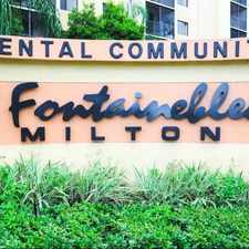 Rental info for Fontainebleau Milton in the Fountainebleau area