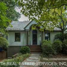 Rental info for 3837 N UPLAND ST in the McLean area
