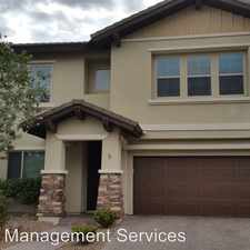 Rental info for 10667 Harvest Green Way in the Summerlin South area