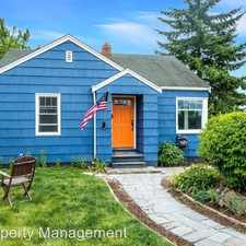 Rental info for 4141 SW Monroe St. in the Fauntleroy area