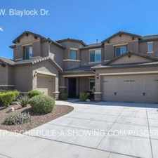 Rental info for 1537 W. Blaylock Dr.