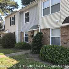 Rental info for 1561 Darren Circle in the Chesapeake area
