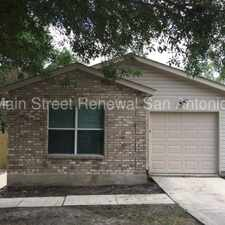 Rental info for 4021 Mystic Sunrise Drive in the San Antonio area