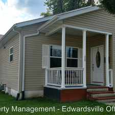 Rental info for 112 2nd Ave in the Edwardsville area