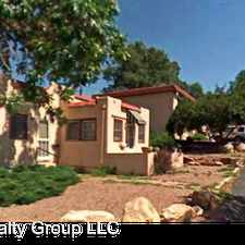 Rental info for 3164 W Colorado Ave in the Colorado Springs area