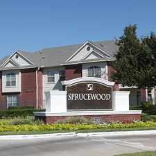 Rental info for Sprucewood