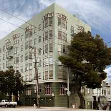 Rental info for 100 BRODERICK Apartments in the San Francisco area