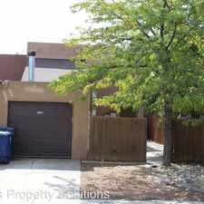 Rental info for 536 Sanchez Rd NW in the Albuquerque area