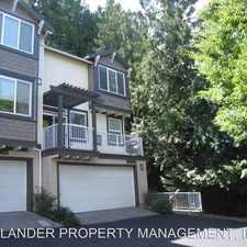 Rental info for 13895 SW BARROWS ROAD #104 in the South Beaverton area