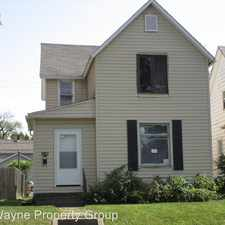 Rental info for 3109 S Harrison in the Fort Wayne area
