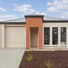Rental info for Lovely Brand New Home in the Adelaide area