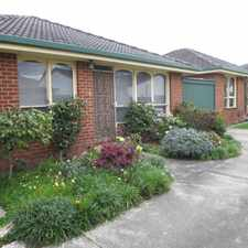 Rental info for SPACIOUS SINGLE LEVEL VILLA READY TO OCCUPY in the Murrumbeena area