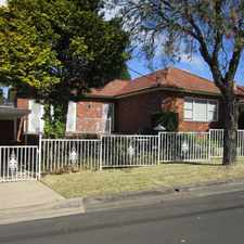 Rental info for SPACIOUS 2 BEDROOM BRICK HOME in the Sydney area